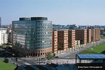Park-Kolonnaden Potsdamer Platz Mieterausbau - Gebäude von Diner&Diner