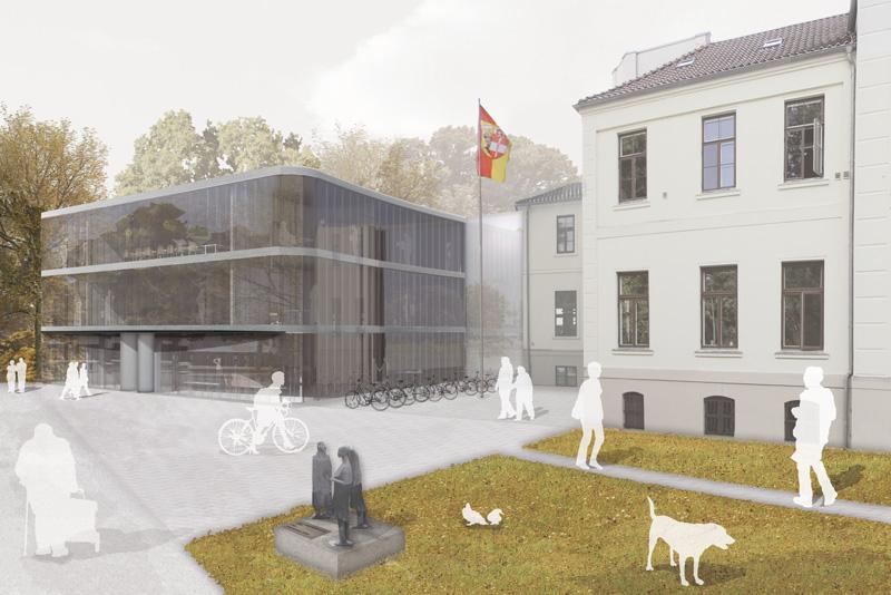 Erweiterungsneubau des Kreissitzes für den Landkreis Wismar